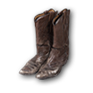 Wear Deadwood Dick's boots.png