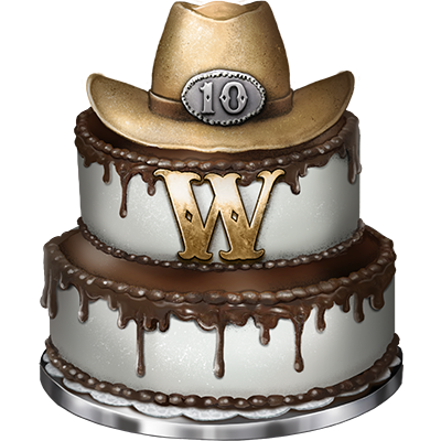 Groovy The West 10Th Anniversary Wiki The West En Funny Birthday Cards Online Aeocydamsfinfo