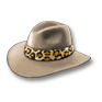 Wear Allan Quatermain's hat.png