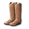Wear Scout's long boots.png