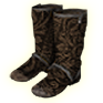 Wear Collector's shoes.png